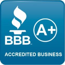 A+ Better Business Bureau Accredited Business
