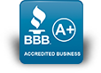 A+ Accredited - Better Business Bureau