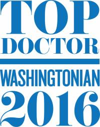 Washingtonian Top Doctor 2016