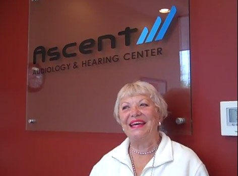 Ascent Audiology & Hearing McLean, VA - Mini RIC Hearing Aid User